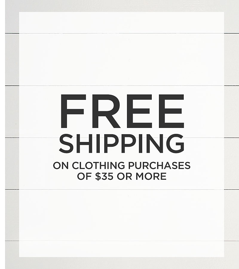 Free Shipping on Purchases of $35 or More