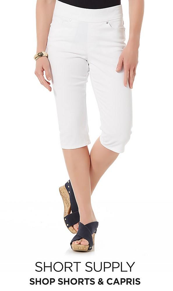 Petite Shorts & Capris