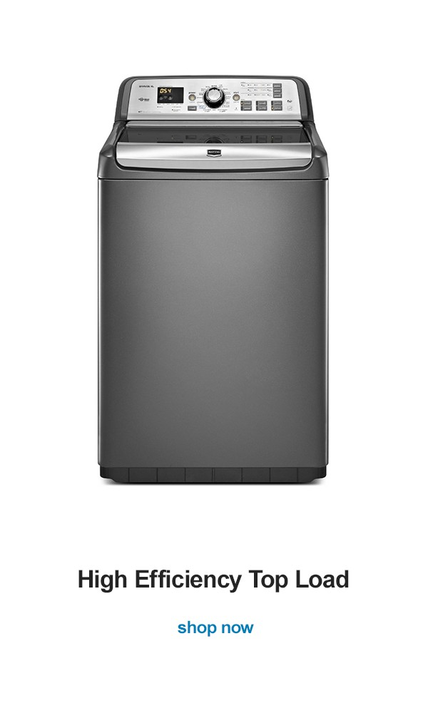 Shop for a new washing machine that will help you knockout piles of dirty clothes with just the push of a button. Whether you love front-load or top-load, there is a model that will let you wash clothes however you want. Sears is here to help you whip your wardrobe back into shape.