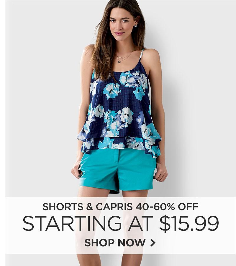 Women's Shorts&#x3b; Women's Capris&#x3b; Shorts&#x3b; Capris&#x3b; Denim&#x3b; Khaki