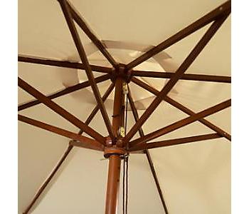 Wooden Patio Umbrella Frame
