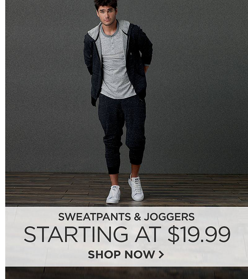 Sweatpants & Joggers Starting at $19.99