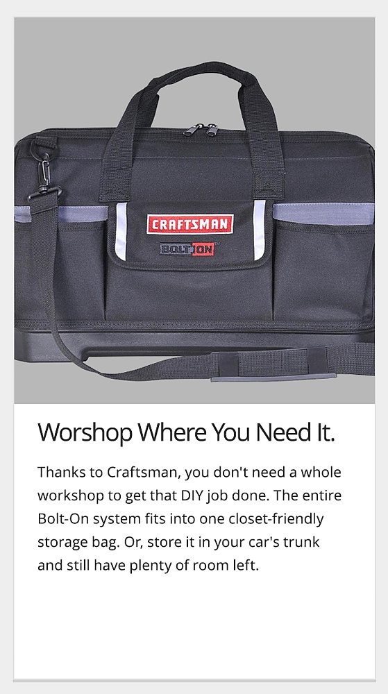 workshop where you need it