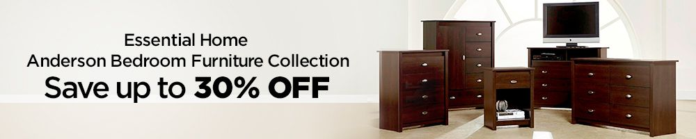 Essential Home Anderson Bedroom Furniture Collection Save Up To 30