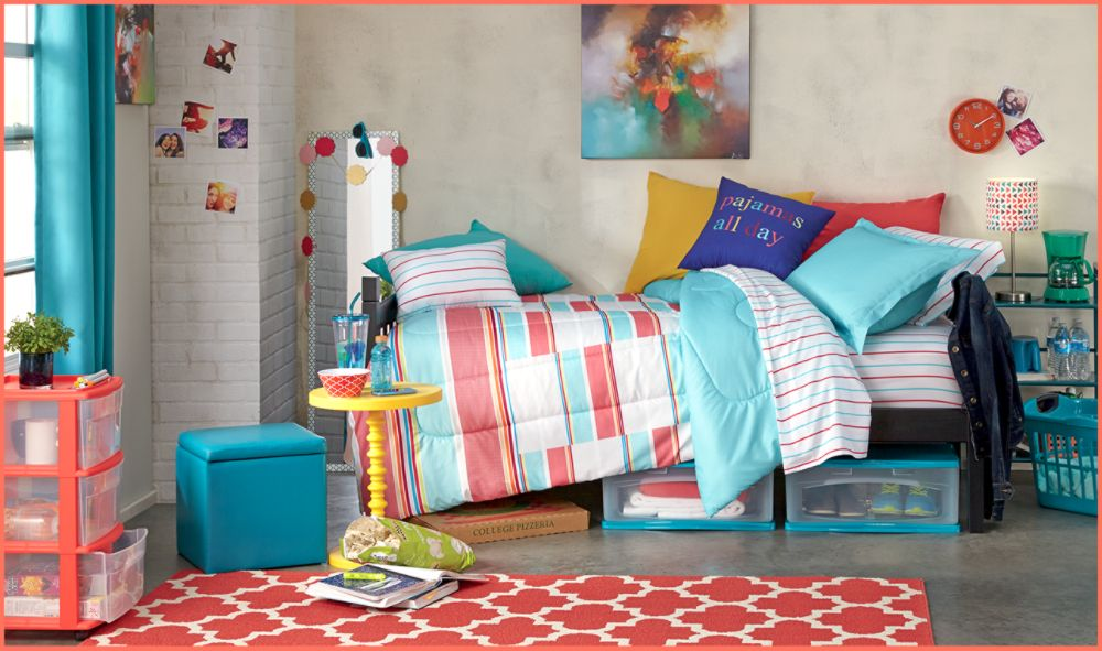 shop dorm rooms that match your style