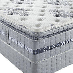 a pillowtop mattress contains a sewnin cushion on its surface which allows sleepers to sink deeper than they would on a plush firm or tight top model