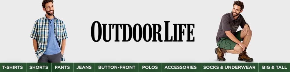 86e5baf33e Outdoor Life Men's Shorts - Sears
