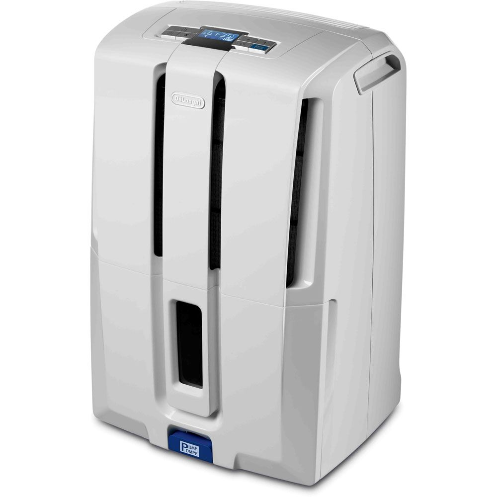 DeLONGHI 50-pint Dehumidifier with Pump
