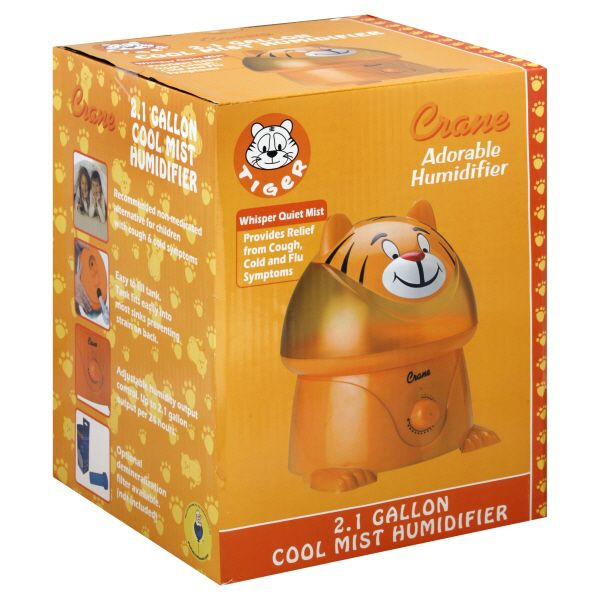 Crane Humidifier, Cool Mist, Adorable, Tiger, 1 humidifier