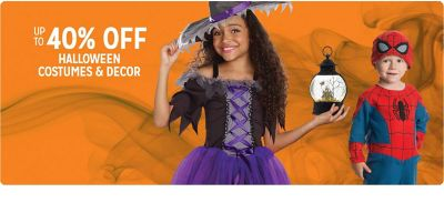 kmart.com - Get Up to 40% off on Halloween Costumes and Decor