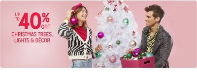 kmart.com - Get Up To 40% Discount on Christmas Trees, Lights and Decor